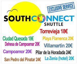 Book South Connect Shuttle 'Direct'